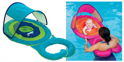 Baby Spring Float Sun Canopy - Mommy and Me  sc 1 st  VerticalResponse & Get Back to Pool with SwimWays